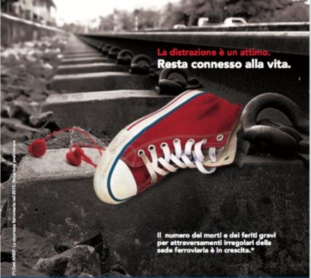 FERROVIA TORINO-CERES - Arrivano i manifesti «salvavita» nelle stazioni