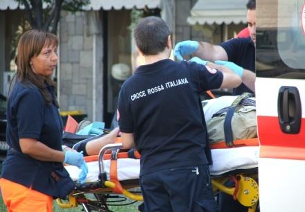 VAL DELLA TORRE - Incidente stradale: due persone in gravi condizioni