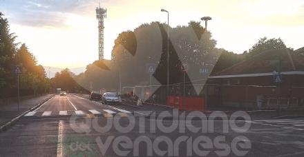 VENARIA - «La nuova viabilità nella zona di piazza De Gasperi è molto pericolosa»