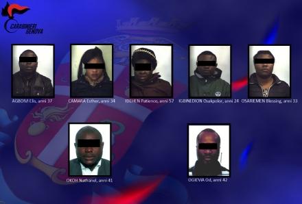 RIVOLI - Obbligavano le connazionali a prostituirsi: ecco le foto degli arrestati