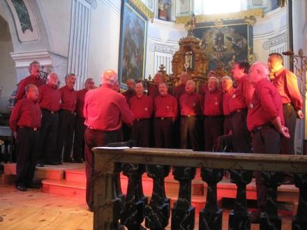 VENARIA - Il Coro Tre Valli va in Germania: si esibirà nella gemellata Vöhringen