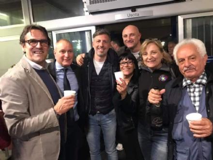COLLEGNO - Il sindaco è ancora Francesco Casciano: vittoria al primo turno