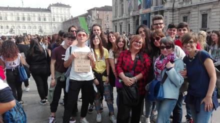 VENARIA - «Juvarra For Future»: anche i liceali venariesi alla manifestazione per il clima