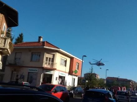 ALPIGNANO - Donna si getta dal ponte nuovo: recuperata viva dai soccorritori