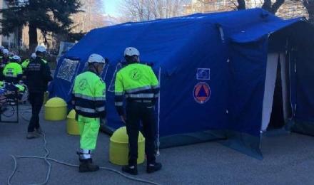 SANITA - La denuncia del sindacato: «Nelle aree pre-triage fa freddo, infermieri a rischio»