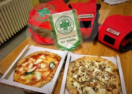VENARIA - Pizze donate a medici e infermieri della Croce Verde grazie a undici venariesi