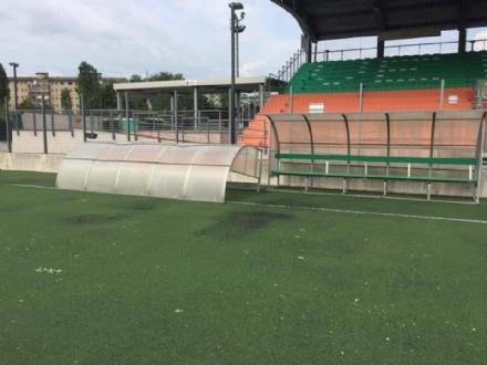VENARIA - Maltempo: danni ingenti al Don Mosso