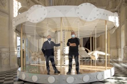 VENARIA - Nella Galleria Grande della Reggia approda la «Giostra di Nina» - FOTO