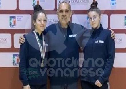 VENARIA - Pesistica: brillanti risultati per Francesca Bentivegna e Rebecca Scamuzzi