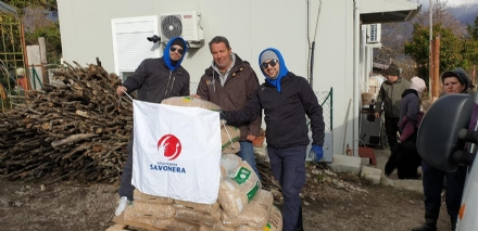 SAVONERA-VENARIA-COLLEGNO - LAssociazione Savonera ancora in aiuto delle zone terremotate