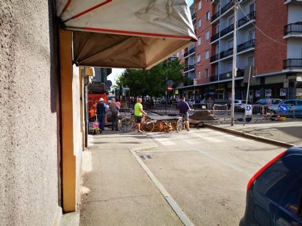VENARIA - Lavori stradali: forti disagi in viale Buridani