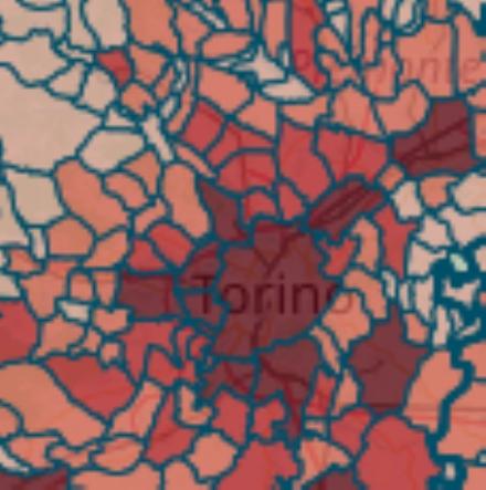 MAPPA CORONAVIRUS - Aumentano i casi in quattro Comuni. Continua il calo in tutta la zona