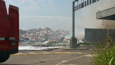 SAVONERA-COLLEGNO - Incendio ex Publirec. Disabato (M5S): «E ora di dire basta»