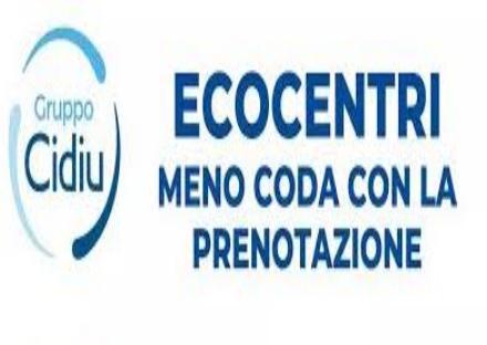 RIFIUTI - Da domani si può prenotare telefonicamente per accedere agli Ecocentri di Cidiu
