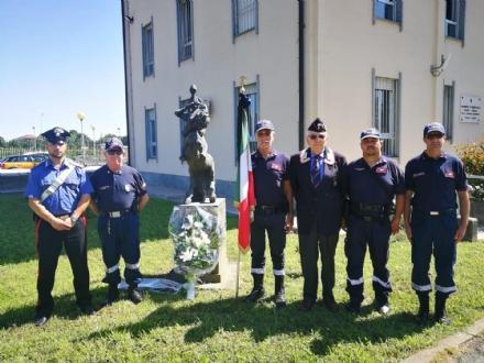 VENARIA - LAssociazione Nazionale Carabinieri ricorda il vicebrigadiere Mario Cerciello Rega
