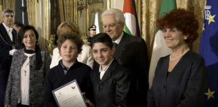 DRUENTO - Giorno della Memoria: La 2F della media premiata al Quirinale da Mattarella