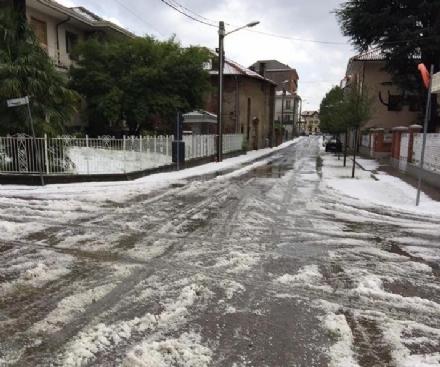 MALTEMPO - Violenta grandinata in zona. Tanti disagi: FOTO E VIDEO