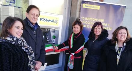 GIVOLETTO - Finalmente in paese torna un bancomat, grazie a Poste Italiane
