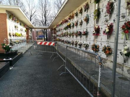 VENARIA - Ognissanti: anche questanno cimiteri parzialmente aperti