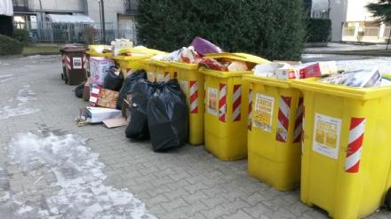 VENARIA - Ancora disservizi con la raccolta differenziata: nessun quartiere è escluso dal problema