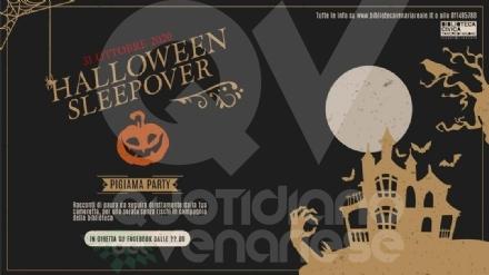 VENARIA - «Halloween Sleepover»: la Biblioteca organizza una festa attraverso Facebook