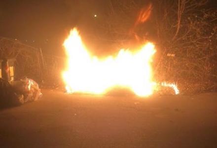 MAPPANO - Due incendi in due giorni in via Marconi: teppisti o piromane?