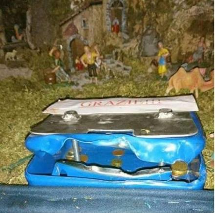 MAPPANO - I ladri rubano le offerte del presepe nella chiesa San Giuseppe Benedetto Cottolengo