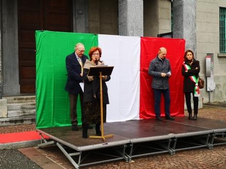 VENARIA-DRUENTO - Celebrata la Giornata dell'Unità Nazionale e delle Forze Armate - FOTO