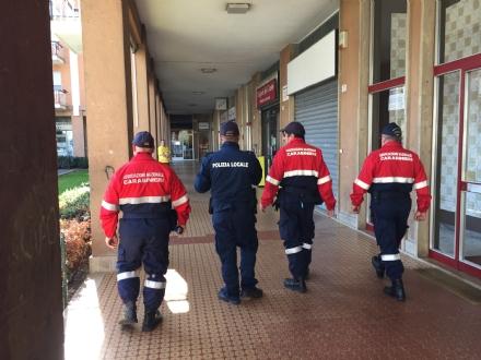 BORGARO - I volontari dellassociazione Carabinieri in congedo sono già in servizio