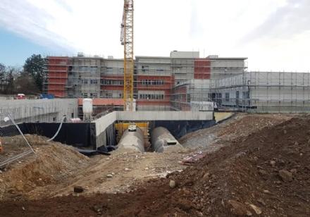 VENARIA - La nuova struttura sanitaria sarà pronta per il prossimo 16 aprile