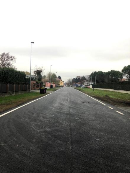 MAPPANO - Finiti i lavori in via Meucci: strada nuova dopo il maltempo