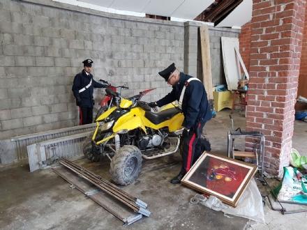 VENARIA - Un capannone trasformato nel «magazzino del rubato»: denunciato un venariese