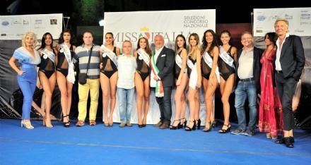 COLLEGNO - Erica Ceste quarta alle finali regionali di Miss Cinema Piemonte e Valle dAosta