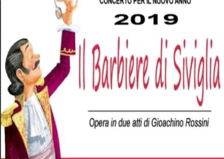 DRUENTO - «Il Concerto del Nuovo Anno» a San Sebastiano con il «Barbiere di Siviglia»