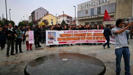 VENARIA - Arresti dopo scontri G7, Salvini: «Anche per gli estremisti rossi, la pacchia è finita»