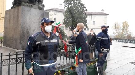 VENARIA - Celebrato il 4 Novembre, tra ricordo e un plauso a medici, infermieri e volontari FOTO