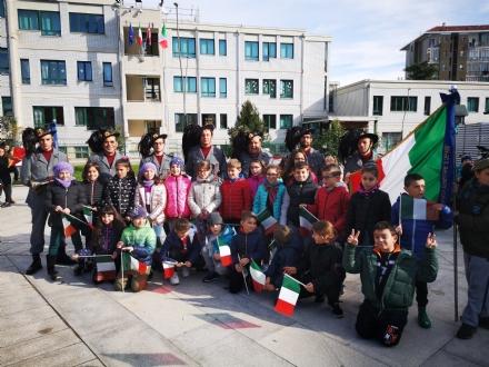 BORGARO - Scuole protagoniste dei festeggiamenti del 4 Novembre - FOTO