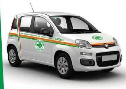 VENARIA - Una nuova Panda per la Croce Verde: domattina la grande festa