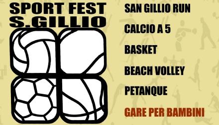 SAN GILLIO - Torna anche questanno la Sport Fest di fine estate