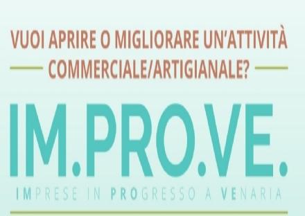 VENARIA - Torna il bando per rivitalizzare e riqualificare le attività commerciali e artigianali
