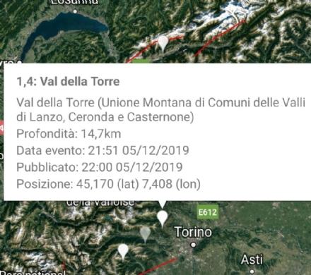 VAL DELLA TORRE - Scossa di terremoto rilevata dalla sala sismica dellIngv di Roma