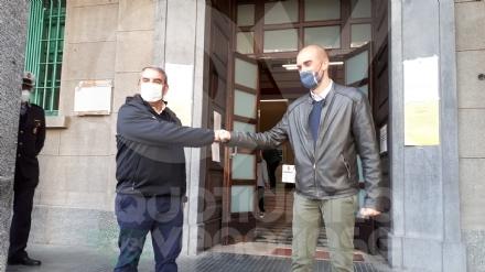 VENARIA - Giulivi: «Sarò il sindaco di tutti». Schillaci: «Ci deve essere collaborazione» FOTO