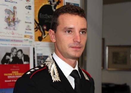 RIVOLI - Il capitano Luca Mariano lascia la guida della compagnia dei Carabinieri di Rivoli