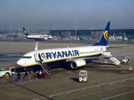 CASELLE - Da fine ottobre nuove rotte Ryanair per Lamezia Terme e Cagliari