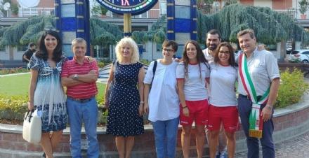 BORGARO - Il Comune premia Giada Barucco, Carlotta Risottino e la Komunicativa Labor Volley U12