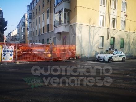 VENARIA - Fuga di gas: chiuso un tratto di via DAnnunzio