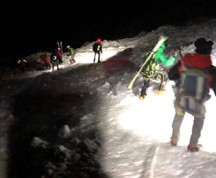 CASELLE - Casellesi bloccati in montagna: salvati dal Soccorso Alpino nel cuore della notte