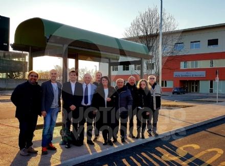 VENARIA - Lassessore regionale ai Trasporti in visita per controllare il percorso del «VE2»