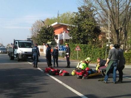 BORGARO - Incidente stradale: ferito dipendente aeroporto Caselle