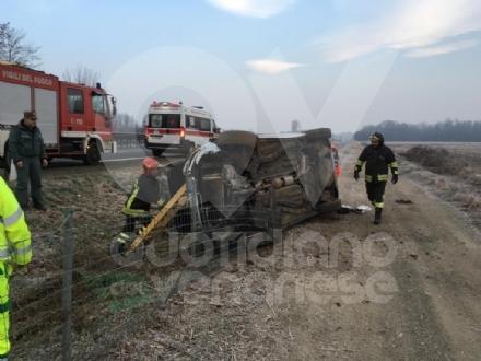 PIANEZZA - 23enne ferita dopo un pauroso incidente in autostrada